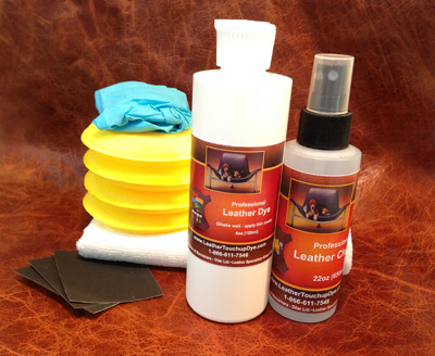 Large 8oz Fast Fix Leather Dye Repair Kit
