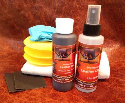 Medium 4oz Fast Fix Leather Dye Repair Kit