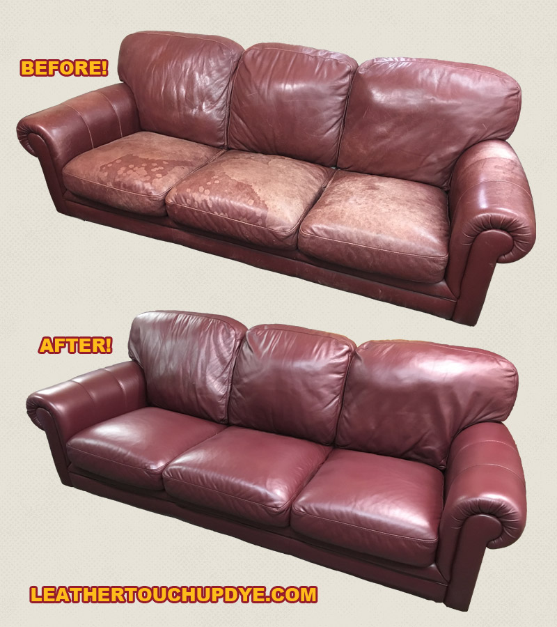 The Before And After Photos Of This Very Couch After The Whole Couch Was  Completed!
