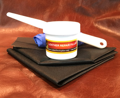 Leather Repair Filler Large 2oz Leathertouchupdye Com
