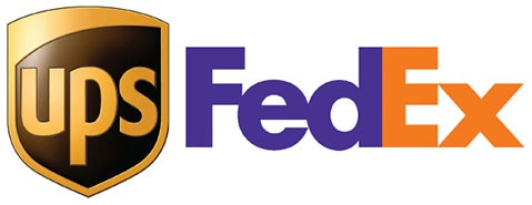 We ship via UPS & FEDEX